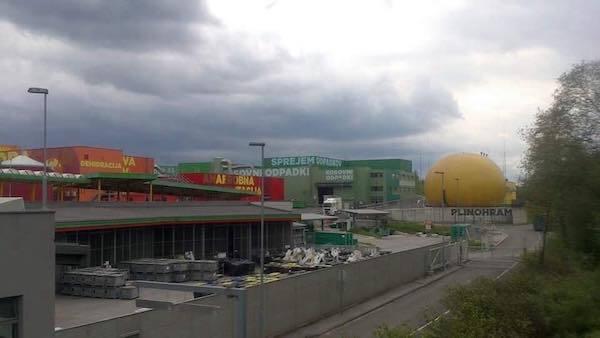 Zero Waste Europe Study Tour Visit of the Ljubljana sorting center